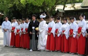 Проведение японской свадьбы